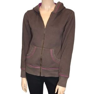 Columbia Full Zip Up Long Sleeve Hooded Sweater